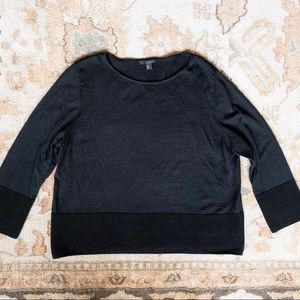 COS // black sweater